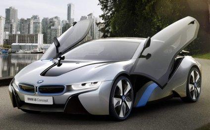 BMW i8 Concept – гибридный