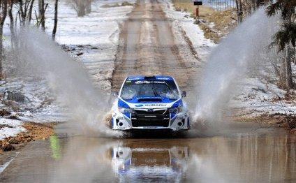 Большие победы на Subaru Rally