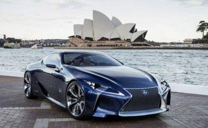 Инновационный гибрид Lexus