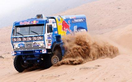 Российские грузовики команды «