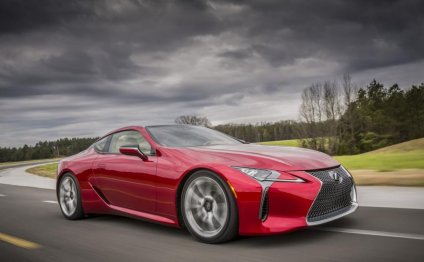 Lexus LC перешел на гибридную
