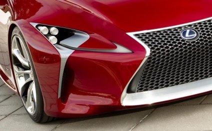 Lexus показал официальные