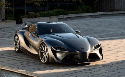 Новый спорткар Toyota Supra