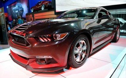 Однако новый Mustang 2015 года