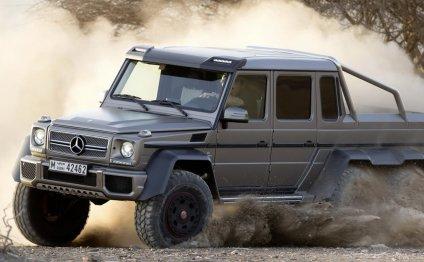 Шестиколесный Mercedes-Benz