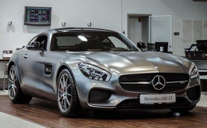 спорткар от Mercedes по